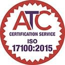 atc certification iso 17100:2015
