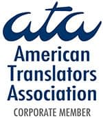 member of american translators association